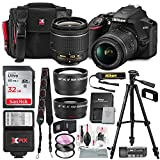 Nikon D3500 DSLR Camera with AF-P DX NIKKOR 18-55mm f/3.5-5.6G VR Lens +...