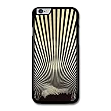 Mona Lisa Black and White Stripes Hypnotic Effect Cool case for iPhone 6 Plus