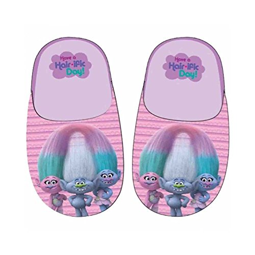 Trolls - chaussons - fille - rose