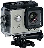 SJCAM SJ4000 WiFi Action Camera - 12MP, 1080P, 2 Inch Screen, Waterproof (Silver)