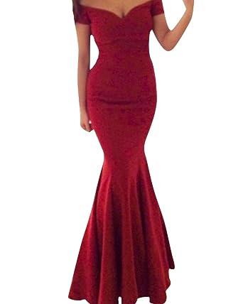 Amazon abendkleid lang rot | Trendige Kleider für die ...