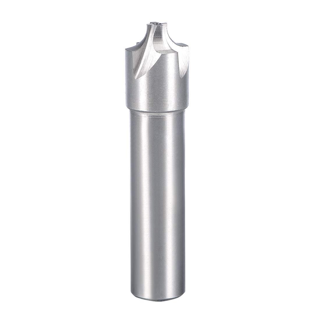 4.2 x 7.4mm sourcingmap HSSAL Cobalt Counterbore End Mill Cap Screws Expand Holes 4 Flutes