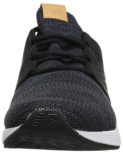New Balance Men's Cruz V2 Fresh Foam Running Shoe, black/white, 7 D US by New Balance (Image #4)