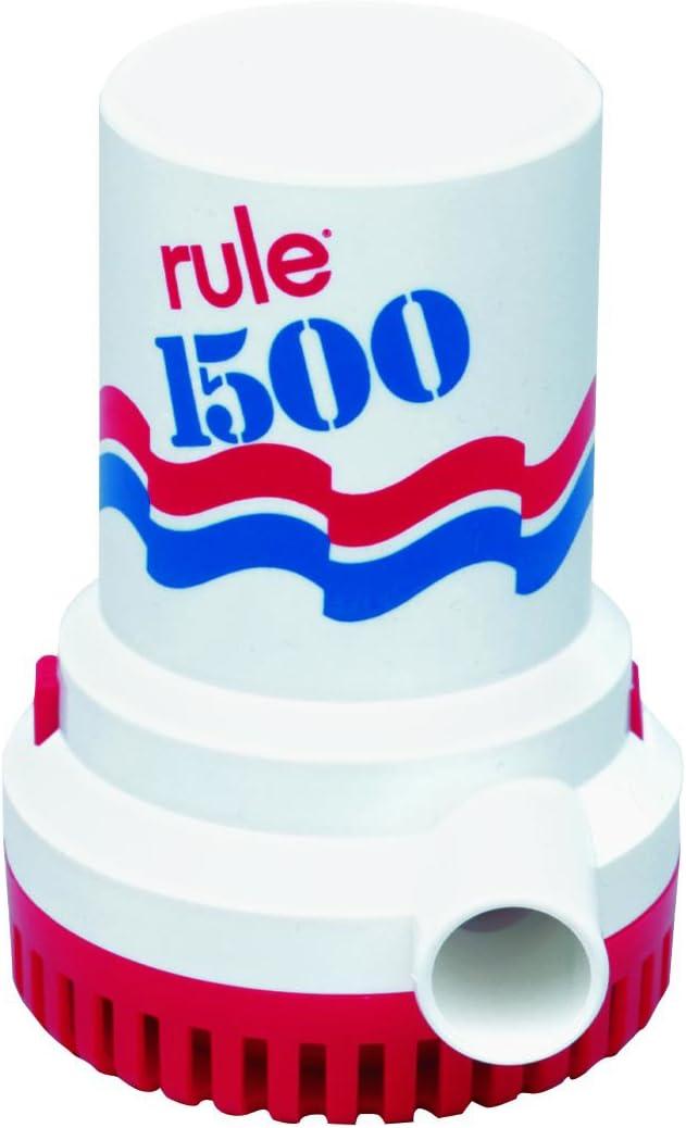 Regla 1500 GPH Bomba de sentina Marina, no automática