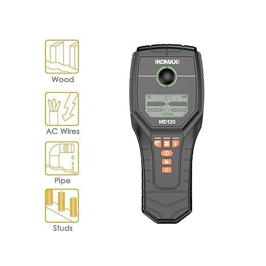 ZHANGXJ Detector de Pared,4 en 1, Detector de Cable y Tuberia ...