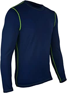 product image for Polarmax Dry Performance Men's Long Sleeve Crew (Small) Navy