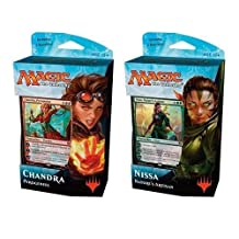 Magic: the Gathering Chandra and Nissa Planeswalker Deck of Cards