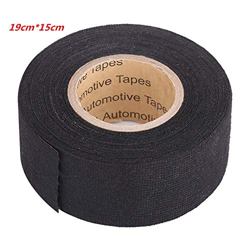- Multipurpose Car Self Adhesive Anti Squeak Rattle Felt Automotive Wiring Harness Tape (Color : 19mm15m)