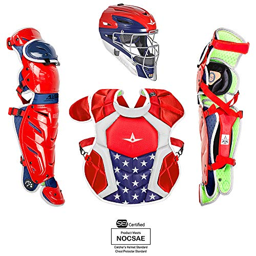 (All-Star Youth System7 Axis USA Pro Catching Kit)
