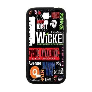 Wicked Black galaxy s4 case