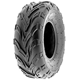 SunF A004 ATV Golf Carts Off-Road Tire 16x7-8, 6 PR, Track & Trail, Tubeless