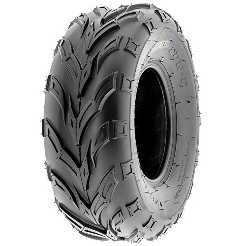 SunF A004 ATV Golf Carts Off-Road Tire 16x7-8, 6 PR, Track & Trail, Tubeless by SunF (Image #1)