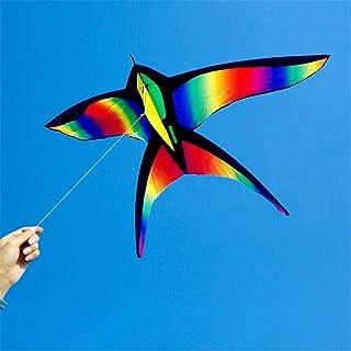 Cerf-volant coloré avec hirondelle arc-en-ciel pour enfant