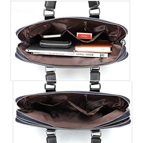 Casual Black Porte À 38cm Taille Pour documents Hommes Cloud couleur Bandoulière Suit Sac Noir xRCq077dw