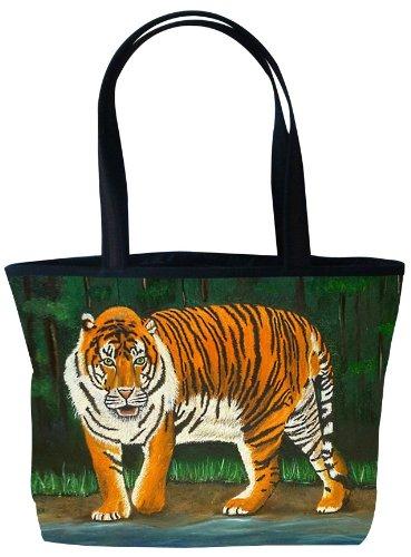 Tiger Shoulder Bag, Vegan Tote Bag - Animal Prints - From...