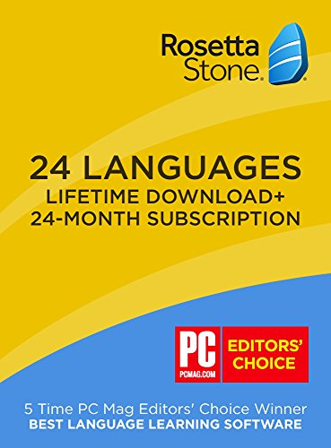 Rosetta Stone 24 Month Online Subscription    Bonus  Lifetime Download