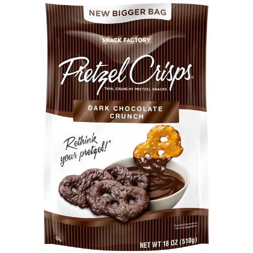 Snack Factory Pretzel Crisps Chocolate product image