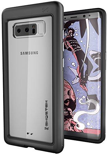 Ghostek Atomic Slim Premium Case for Galaxy Note 8 Military Grade Drop Tested | Black