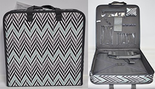 (Omnigear Hard Sided Chevron Themed Quilters Project Case)