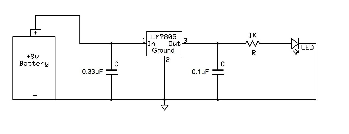 Electrobot 7805 L7805cv Lm7805 Voltage Regulator Ic 5v 15a Pack Ecp Wiring Diagram Of 10 Industrial Scientific