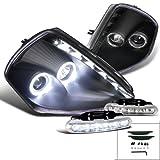 2000 mitsubishi eclipse halo - Eclipse Twin Halo Smd Led Stripe Projector Headlight+Led Fog Lamp Drl