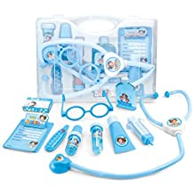 NextX Early Learning Toys,Pretend Play Medical Kits for Kids to Cosplay Doctor,Blue