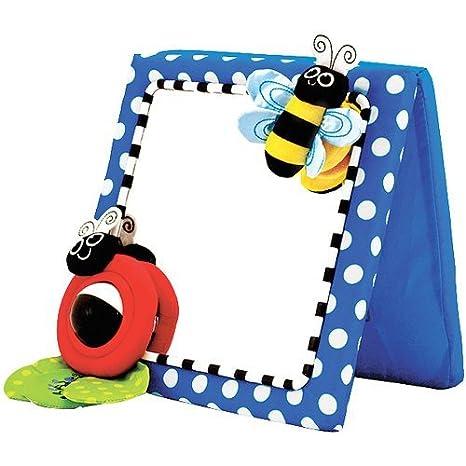 Amazon.com: Sassy Inspire Vision Crib and Floor Mirror (Styles Vary ...