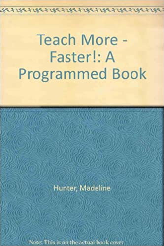 Book Teach More - Faster!: A Programmed Book