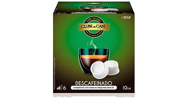 CAFÉ DESCAFEINADO 10 CÁPSULAS BICAFÉ, COMPATIBLES DELTA Q: Amazon.es: Hogar