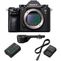 Sony Alpha a9 Mirrorless Digital Camera, Full Frame - Bundle with Sony GP-X1EM Grip Extension, Sony BC-QZ1 Battery Charger, Sony NP-FZ100 Lithium-Ion Rechargeable Battery