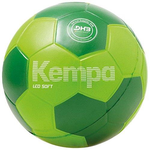 Kempa Leo Soft Balón de Entrenamiento, Infantil, Verde (Esperanza/dra), Talla Única