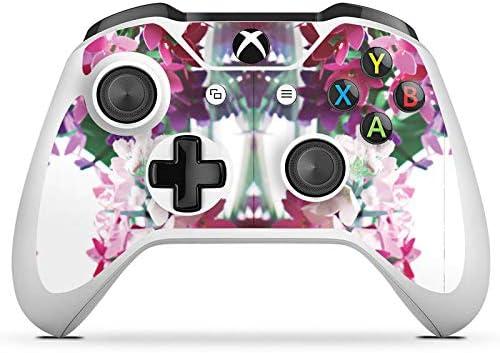 Microsoft Xbox One S protector de pantalla Pegatinas Skin de vinilo adhesivo decorativo, diseño de flores: Amazon.es: Electrónica