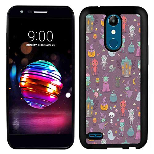 Halloween Elf Pattern LG K10 Soft TPU Phone Case (2017) [5.3 Version]]()