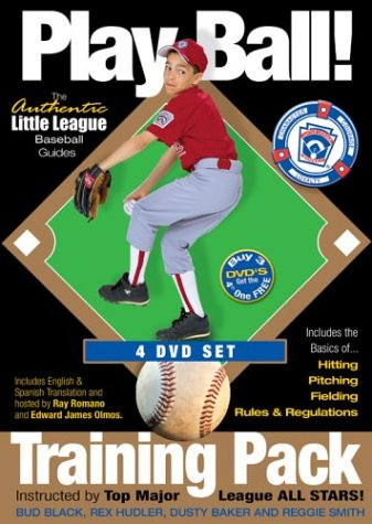Fit Pack Dvd (Play Ball! Training Pack: The Authentic Little League Baseball Guides)