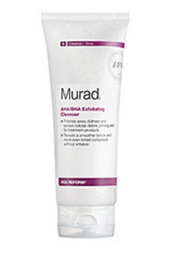 Murad AHA/BHA Exfoliating Cleanser Age Reform travel size 1 oz