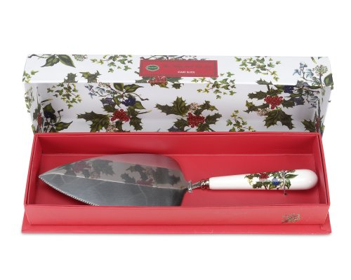 Portmeirion Holly and Ivy Cake Server (Holly Cake)