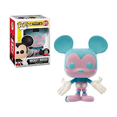 Funko Pop Disney Blue and Purple Mickey Mouse 90 Years Funko: Toys & Games