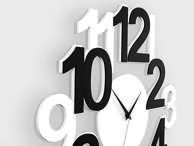 Amazon.com: Jundonglilai Wall Clock Quartz Clock Mute Clock Personality Creative Wall Clock Living Room Modern Minimalist Clock Fashion Bedroom Clock: ...