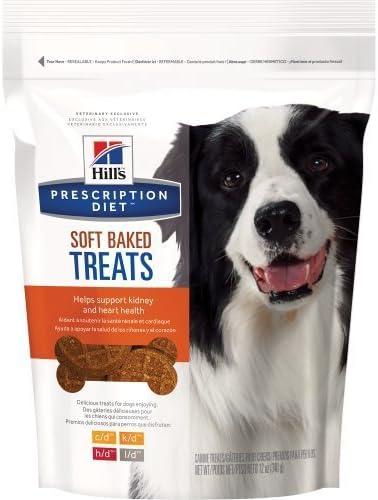 Hill S Prescription Diet Soft Baked Dog Treats, Medium, 12 Oz, 1 Pouch