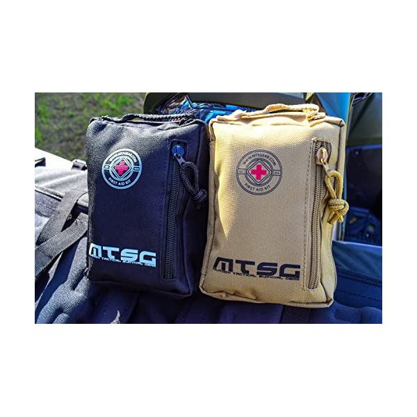 Mtsg Military Tactical Survival Gear First Aid Kit For Emergency