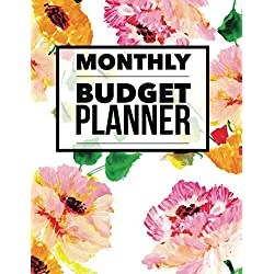 Monthly Budget Planner: Personal Money Management With Calendar 2018-2019 Step-by-Step Guide to track your Financial Health (Monthly Budget Planner and Bill Tracker)