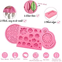 Polymer Clay Crafting Projects 2082 Cupcake Topper Jewelry Making Funshowcase Tropical Palm Leaf Beach Holiday Beach Party Fondant Silicone Mold for Sugarcraft