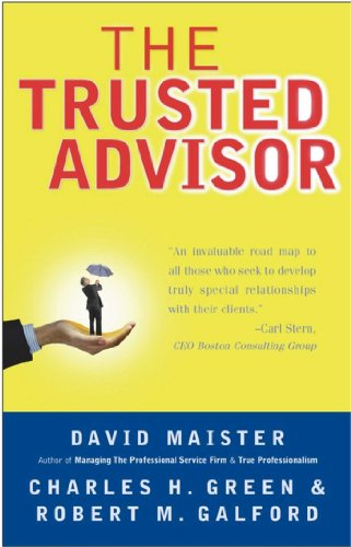 The Trusted Advisor (English Edition)