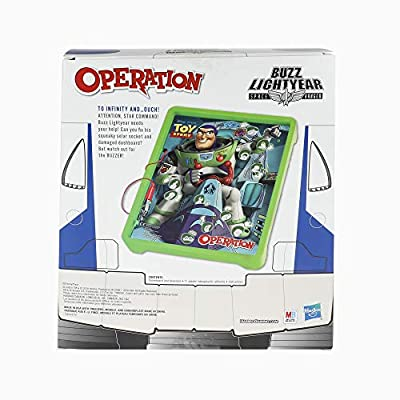Hasbro Gaming Operation: Disney/Pixar Toy Story Buzz Lightyear Board Game for Kids Ages 6 & Up: Toys & Games