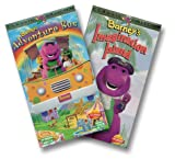 Barney - Barneys Adventure Bus/Imagination Island [VHS]