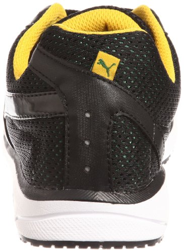 PUMA RUNNING SNEAKERS FAAS 350 JAM II MEN, BLACK/AMAZON/SPECTRA YELLOW, COLOUR BLACK