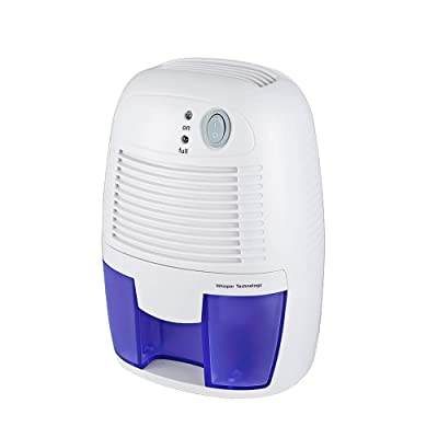 .com - JOYWEE Electric Home Mini Air Dehumidifier, 1200 Cubic Feet (150 sq ft), Compact and Portable for Damp Air, Mold, Moisture in Home, Kitchen, Bedroom, Basement, Caravan, Office, Garage -