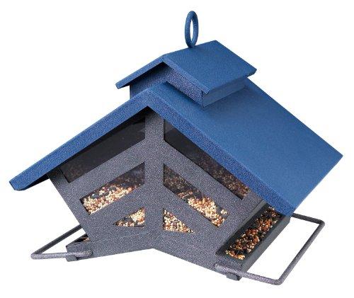 Audubon 74240 Chalet Metal Hopper Bird Feeder