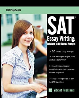 sat essay writing solutions to 50 sample prompts test prep series volume - Examples To Use For Sat Essay
