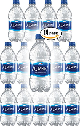 Aquafina Water, Pure Water, Perfect Taste, 12 Fl Oz (Pack of 14, Total of 168 Fl Oz) 12 Ounce Bottle Water